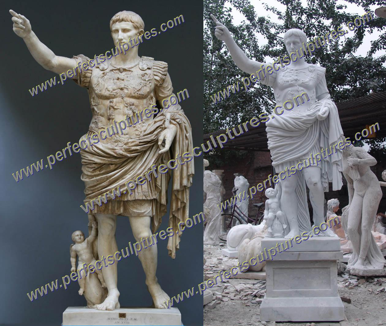 Custom Caesar Sculpture in Italy