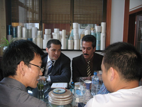 Mohammad Visit Our company -2012.06