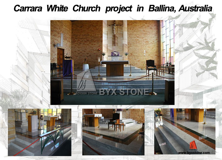 Carrara White Church Project in Australia