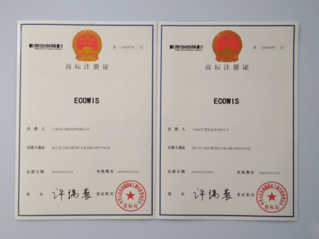 ECOWIS REGISTERED BRAND!