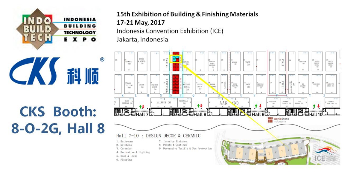 17-21May,Indonesia Convention Exhibition (ICE)Jakarta, Indonesia