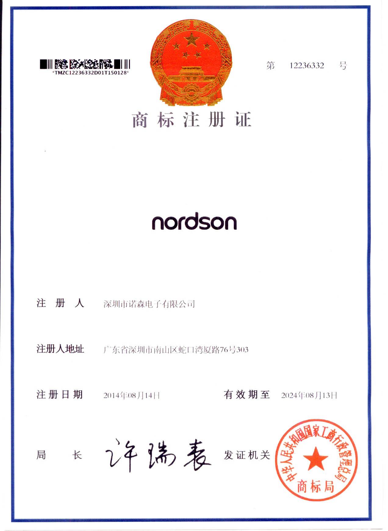 Nordson Registered Trademark
