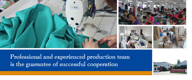 As manufacturer we have our own factory and workers