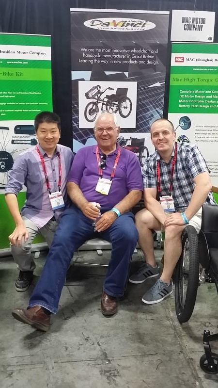 Mac Attended the Interbike Exhibition