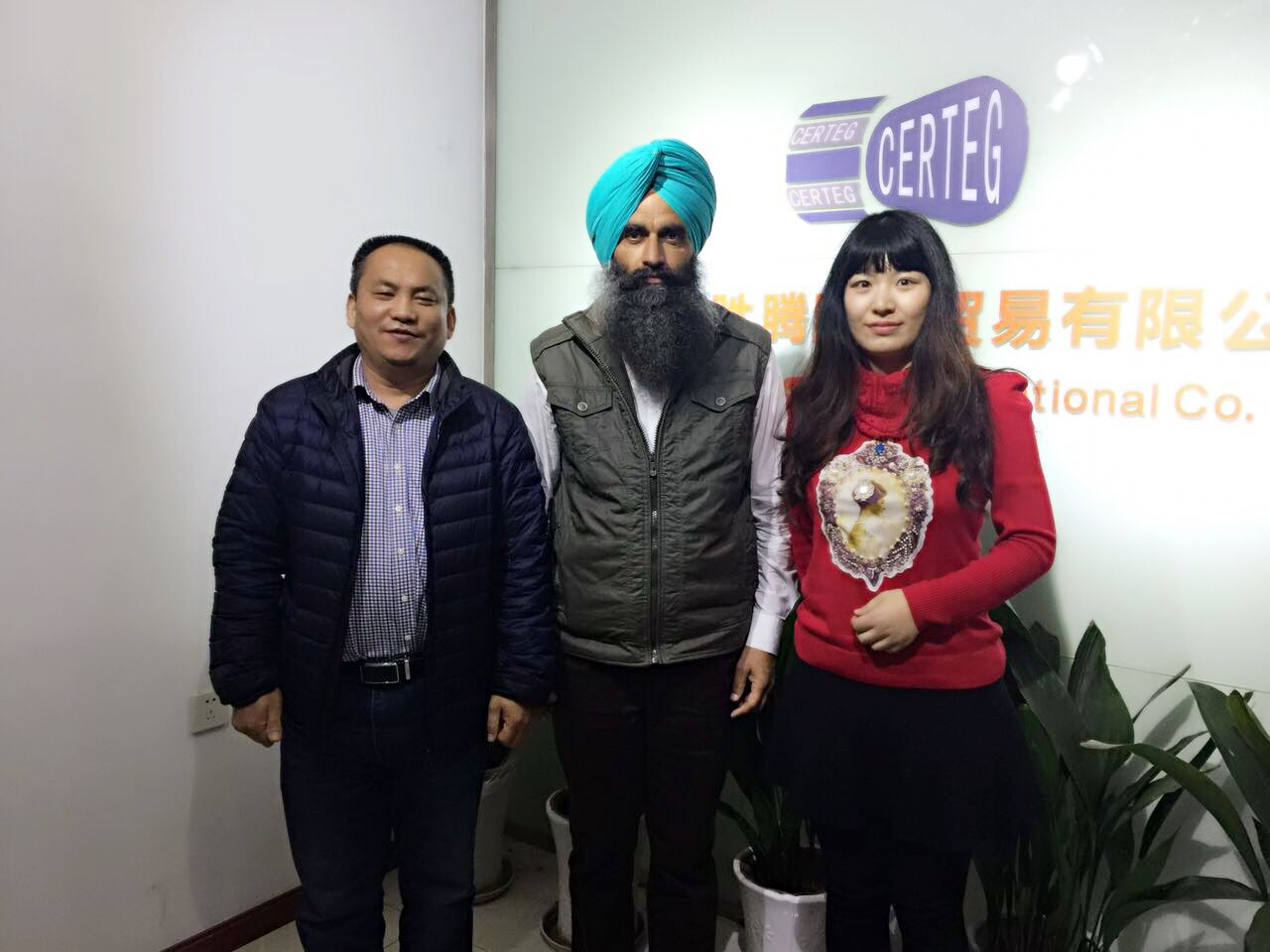 On March,2017--Our customer from Canada