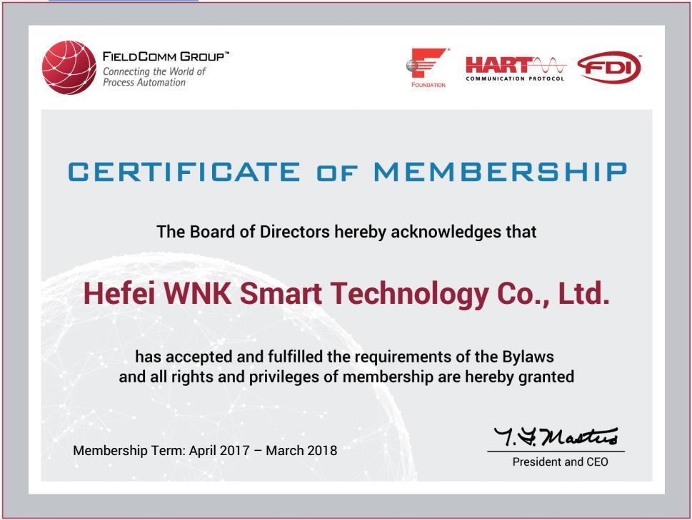 Hart certificates