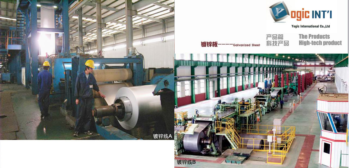 Hot-Dipped Galvanized Work Line