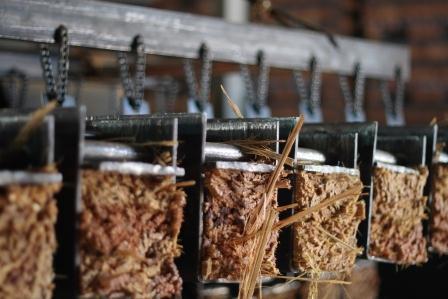Bamboo Pressing