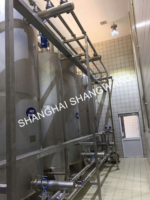 10,000 Liter automatic CIP system