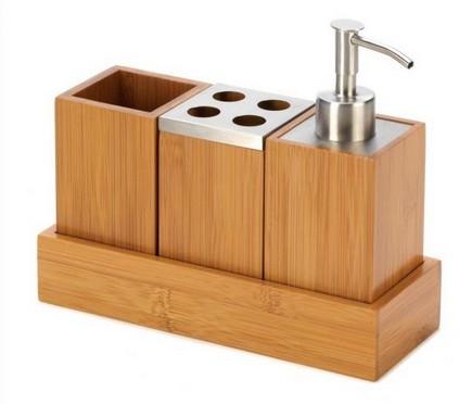 Bamboo Bathroom Set