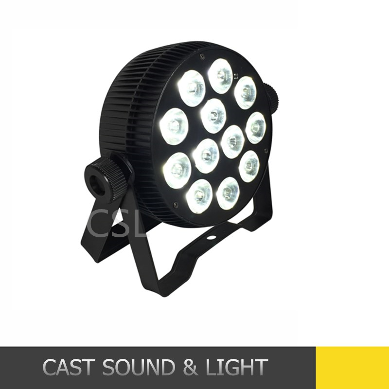 12LEDS *4in1/5in1/6in1 die-cast aluminium par with wireless control