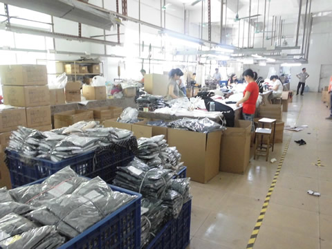 QC and package department