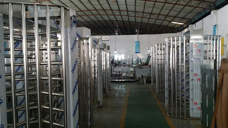 Full Height Turnstile Production Working Line