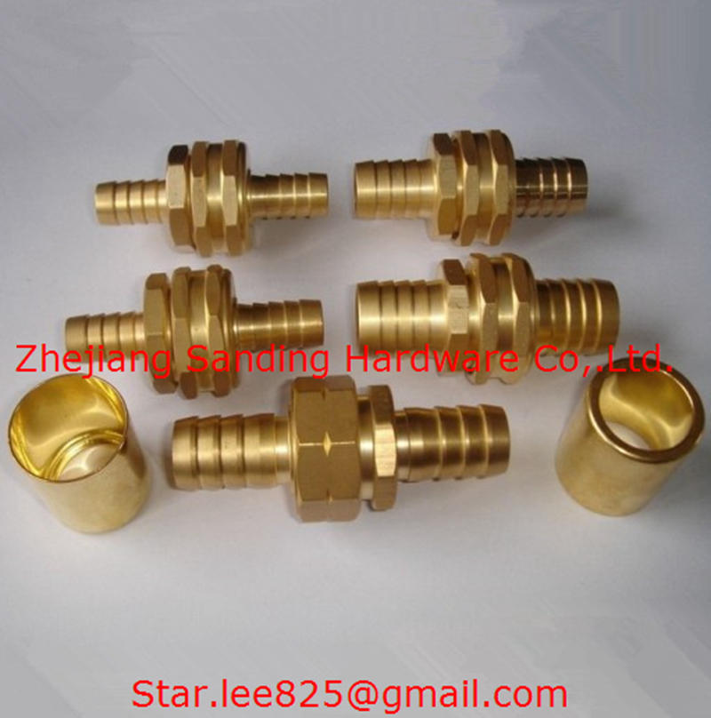 Brass Hydraulic Hose Fitting