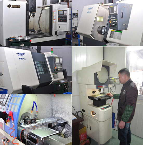 Machining and Inspection