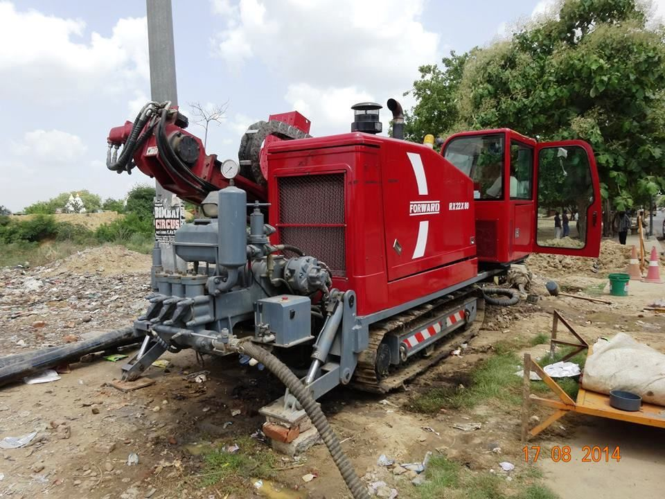 RX22X80 22 ton Horizontal Directional Drill Rigs in India