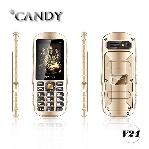2.4inch Full Metal IP67 Watter Proof, Dust Proof, Shock Proof Mobile Phone