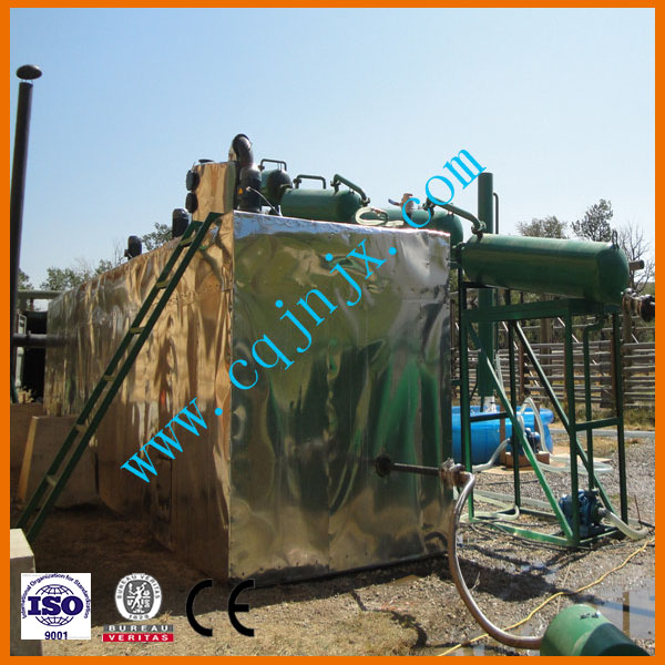 Jnc-30 Hot Sell Waste Oil Distillation to Diesel Equipment -Catalytic Distillation
