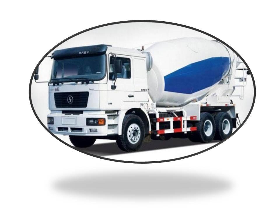 SHACMAN cement mixer truck