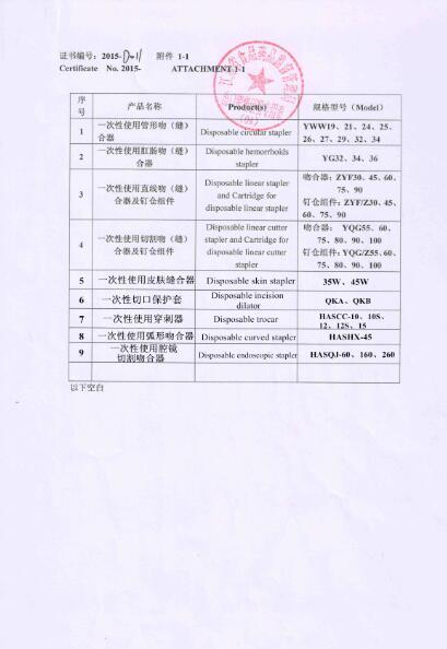 Free sale Certificate-2