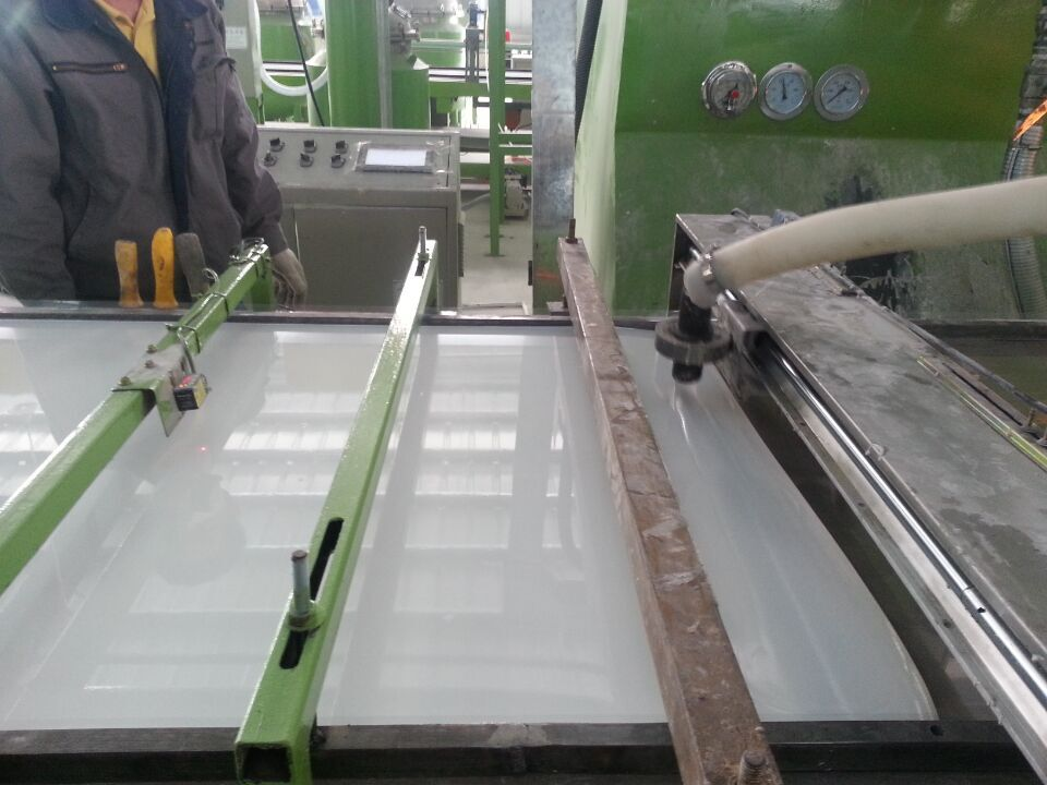 acrylic solid surface sheet Automatic line production