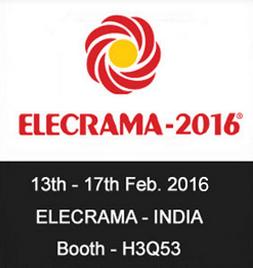 Fatech will attend Elecrama India 2016