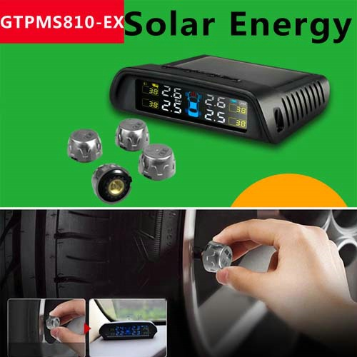 Universal Wireless TPMS with external Sensor GTPMS810-EX