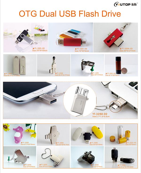 OTG Dual USB Flash Drive