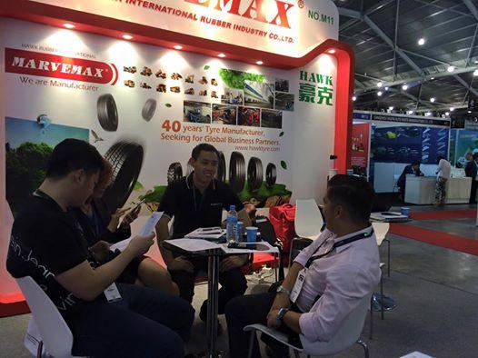 Tyrexpo Asia 2015 SUPERHAWK TIRE