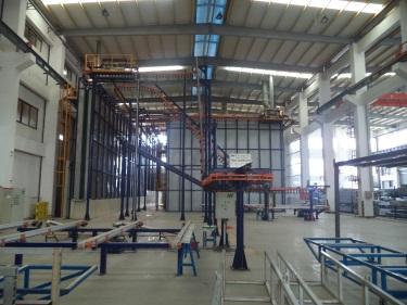 Aluminium Powder Coated Workshop