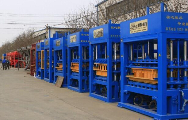 fully automatic hydraulic concrete block machine