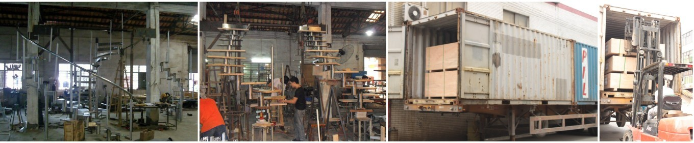 Engineering integrated stairs for Australia customer just Shipped out