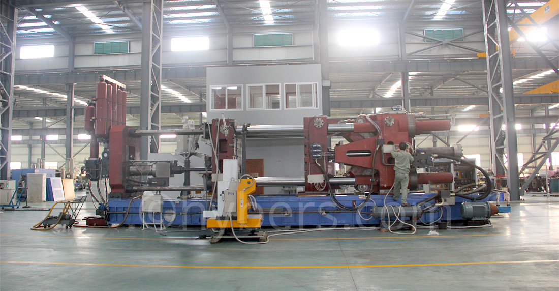 1000ton cold chamber die casting machine