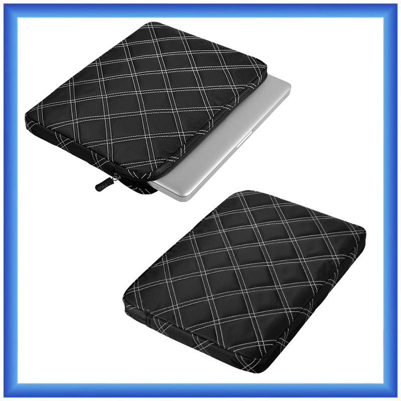 fashion stitching design laptop sleeve custom laptop briefcase