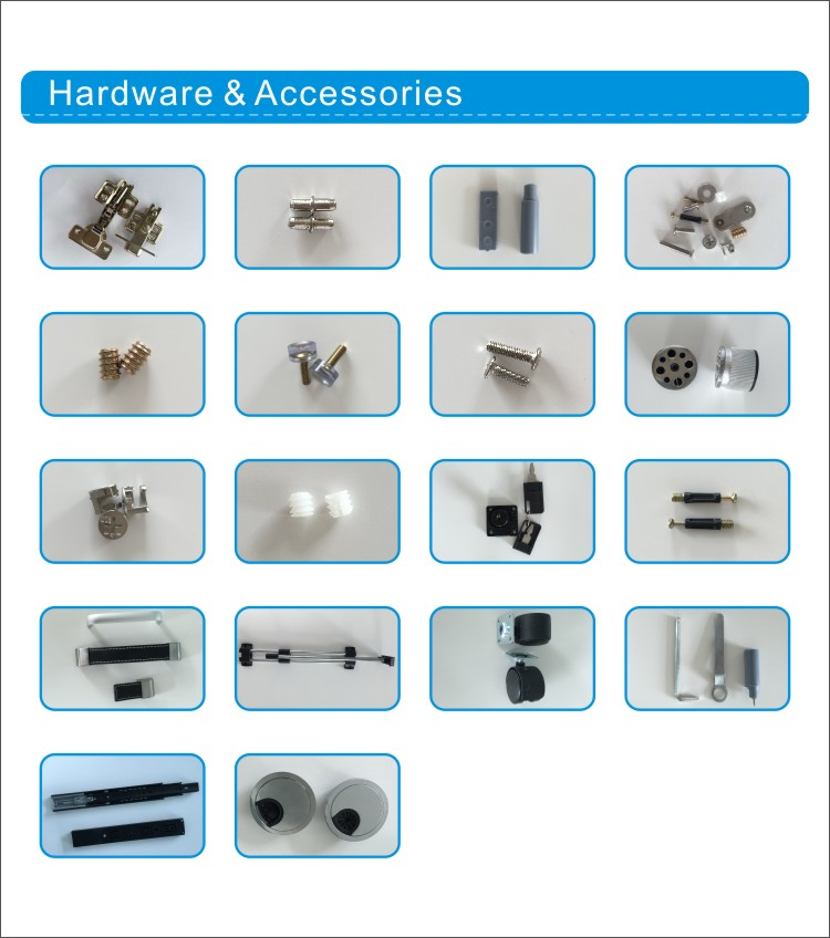 Detail of hardware and accessories