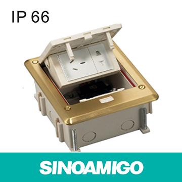 IP66 Waterproof Function floor Socket Junction Box