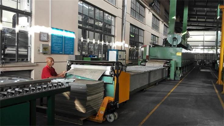 PVC Flooring & Vinyl Tile Impregnation Equipment