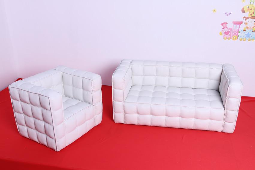 PU leather Bread shape children sofa set (SXBB-150-02)