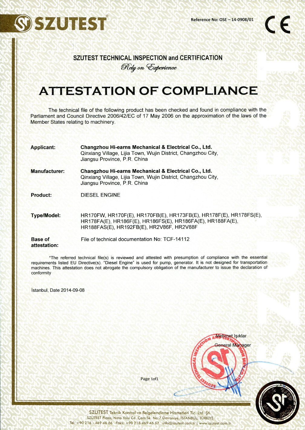 Low voltage directive