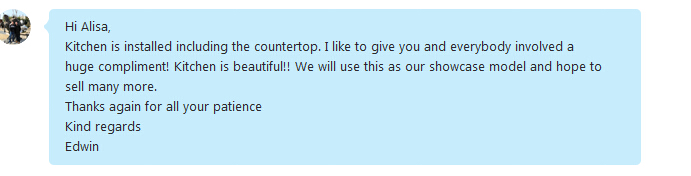 comment from client