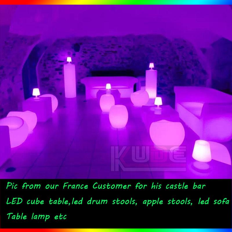 led furnitures for castle bar