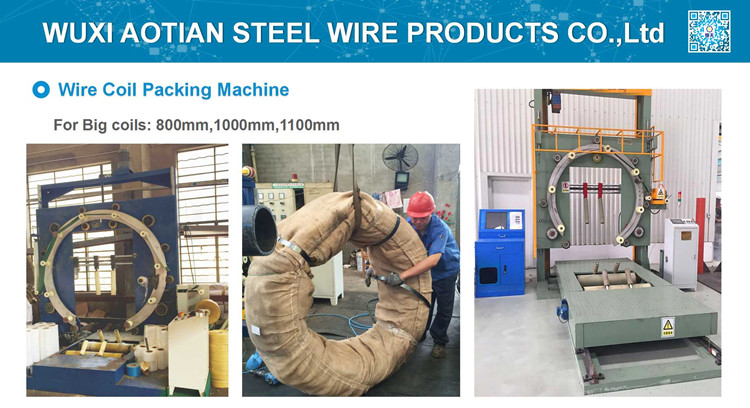 Big Wire Coil Packing Machine