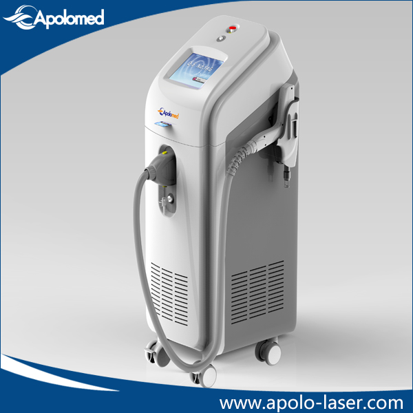Q-Switched ND: YAG Laser Floor Standing Machine for Tattoo Removal