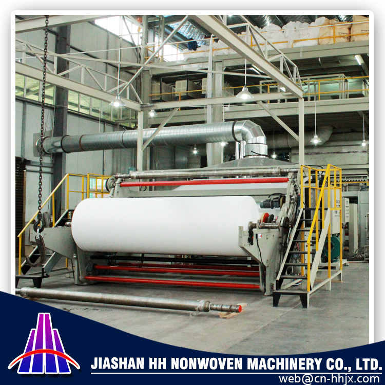 SMMS PP SPUNBOND NONWOVEN WINDING MACHINE