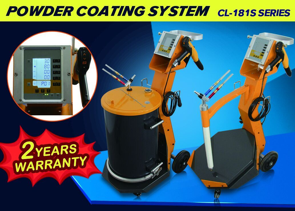 Digital Powder Coating Gun System