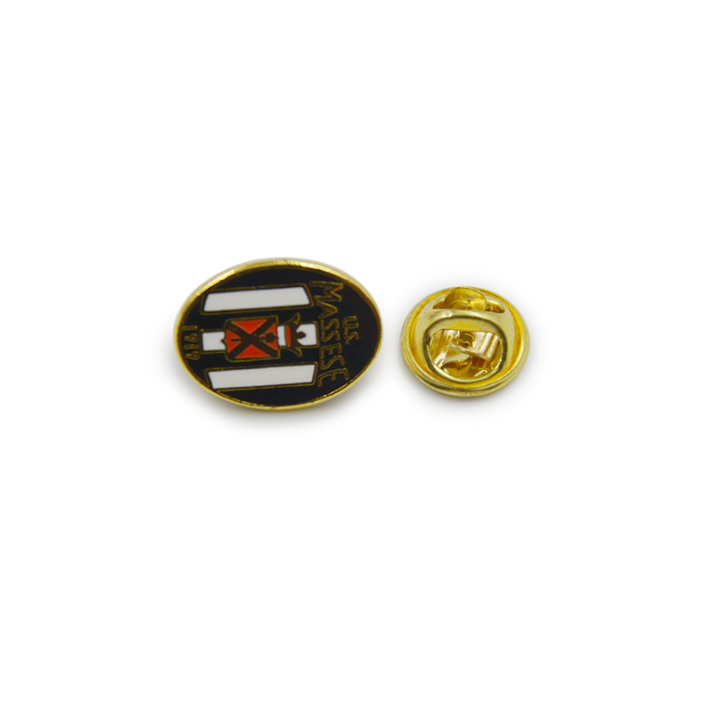 Owel U. S. Massese Souvenir Lapel Pin-Badge Enamel