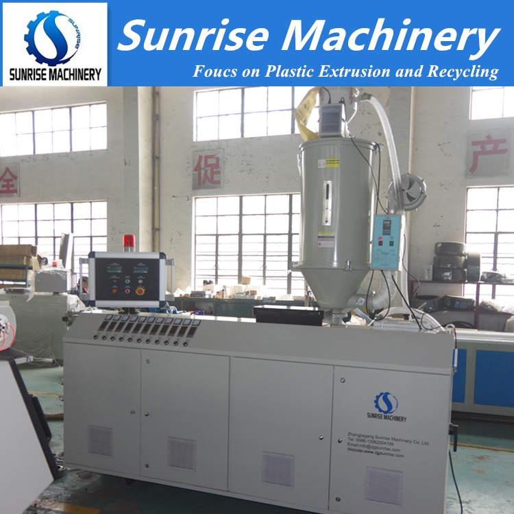 HDPE Pipe Extrusion Machine Machine Plastic Extruder