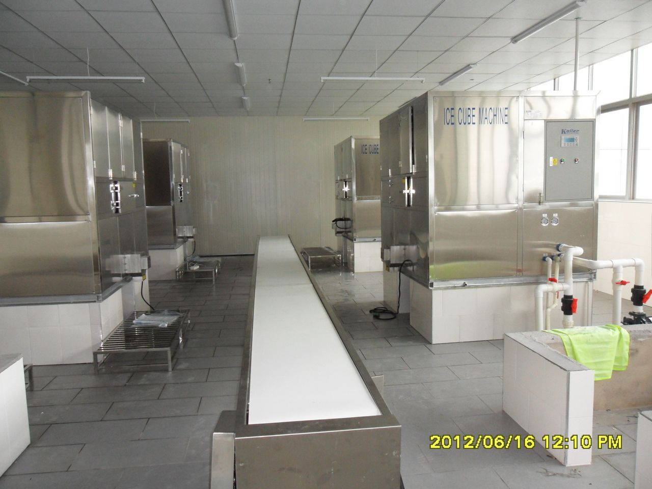 2012 New Project of Ice Cube Machine In Fujian, China