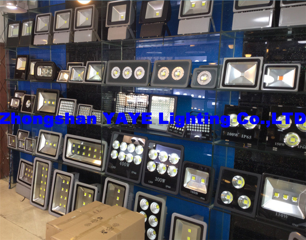 YAYE Showroom 2 supply many types LED Flood Lights/LED Street Lights for your selecting