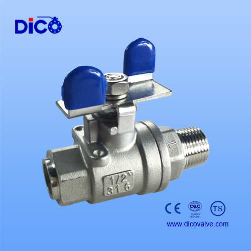 2PC Ball valve and BW end